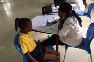 Dental Health Check Day at Pinefield School
