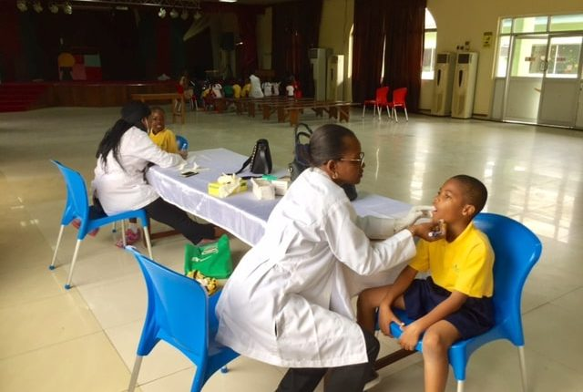 Dental Health Check Day at Pinefield School
