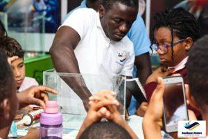 Trip to Aqua Square Aquarium in Lagos