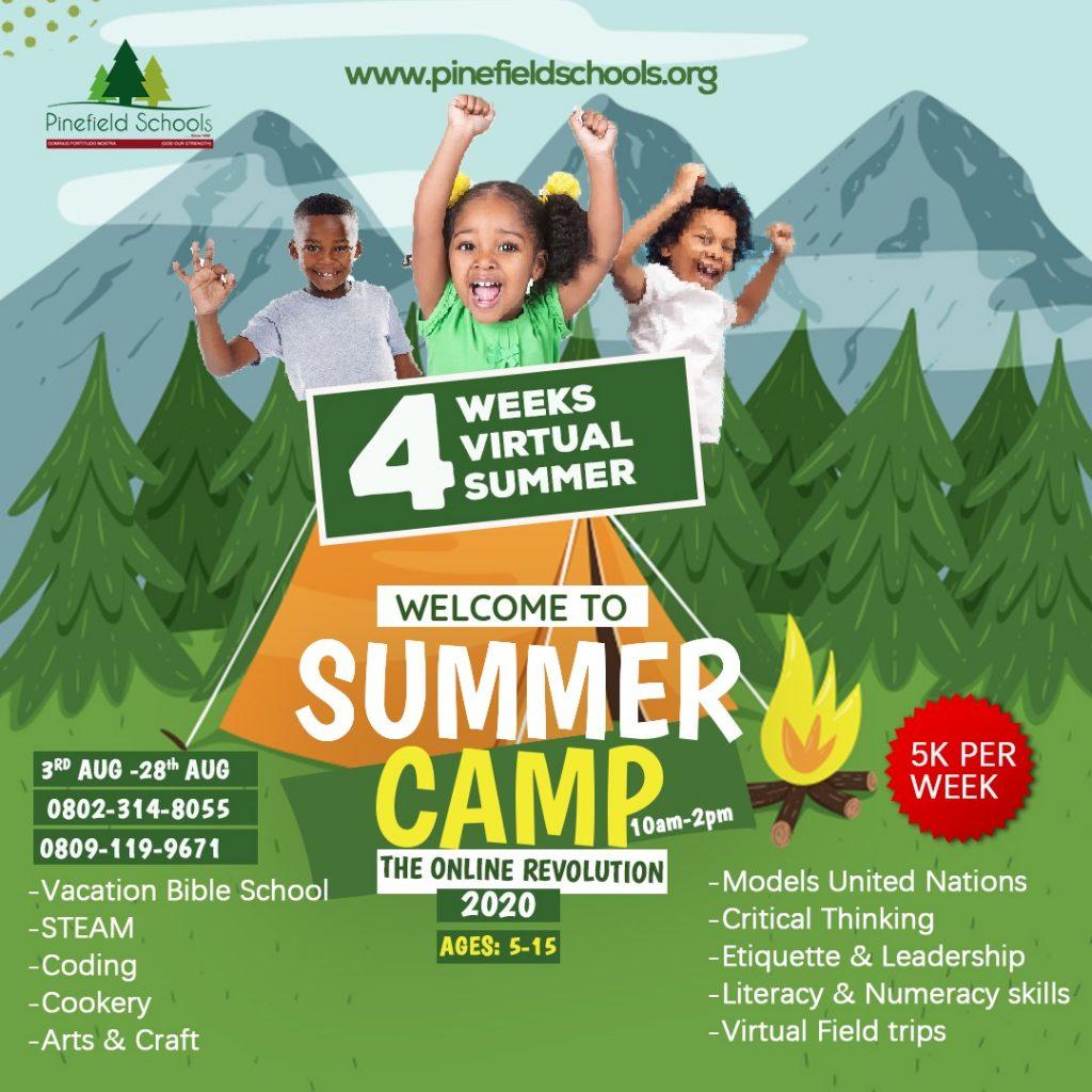 pinefield summer camp
